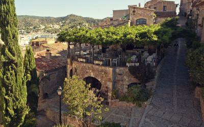 Calles del casco antiguo de Tossa de Mar