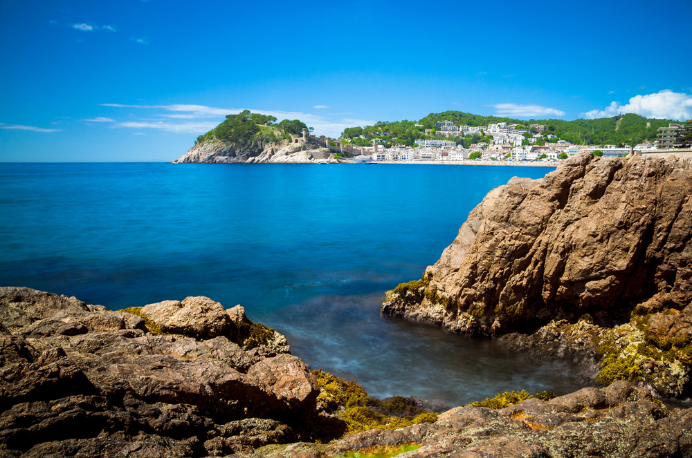 Tossa de Mar, un praíso en la Costa Brava
